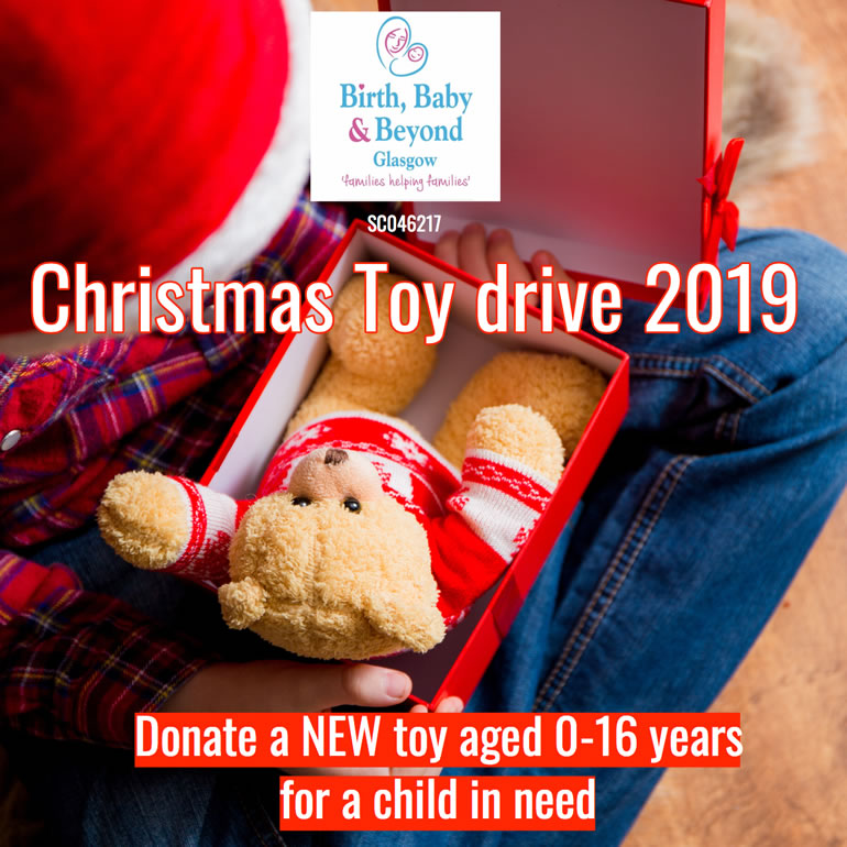 Christmas Toy Drive 2019: Donate a NEW toy for a child in need aged 0-16 years