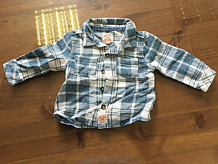 aea96f9dc Mantaray boys long sleeve shirt 3-6 months